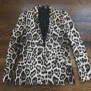 Zara. Cheetah Blazer. Size S. Worn once!